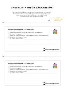 Checklista-lakarbesok